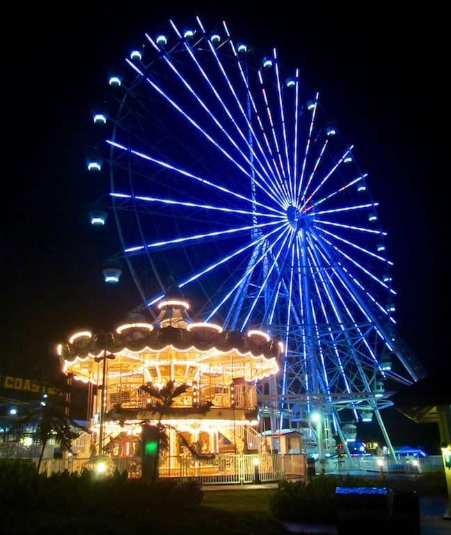 Ferris wheel at Sky Ranch, Tagaytay