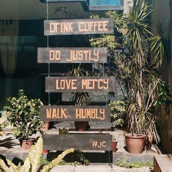 Penang coffee shop sign | Penang UNESCO World Heritage City | Pulau Pinang | Malaysia