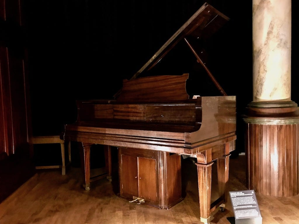 A self-playing piano in the Speelklok Museum, Utrecht